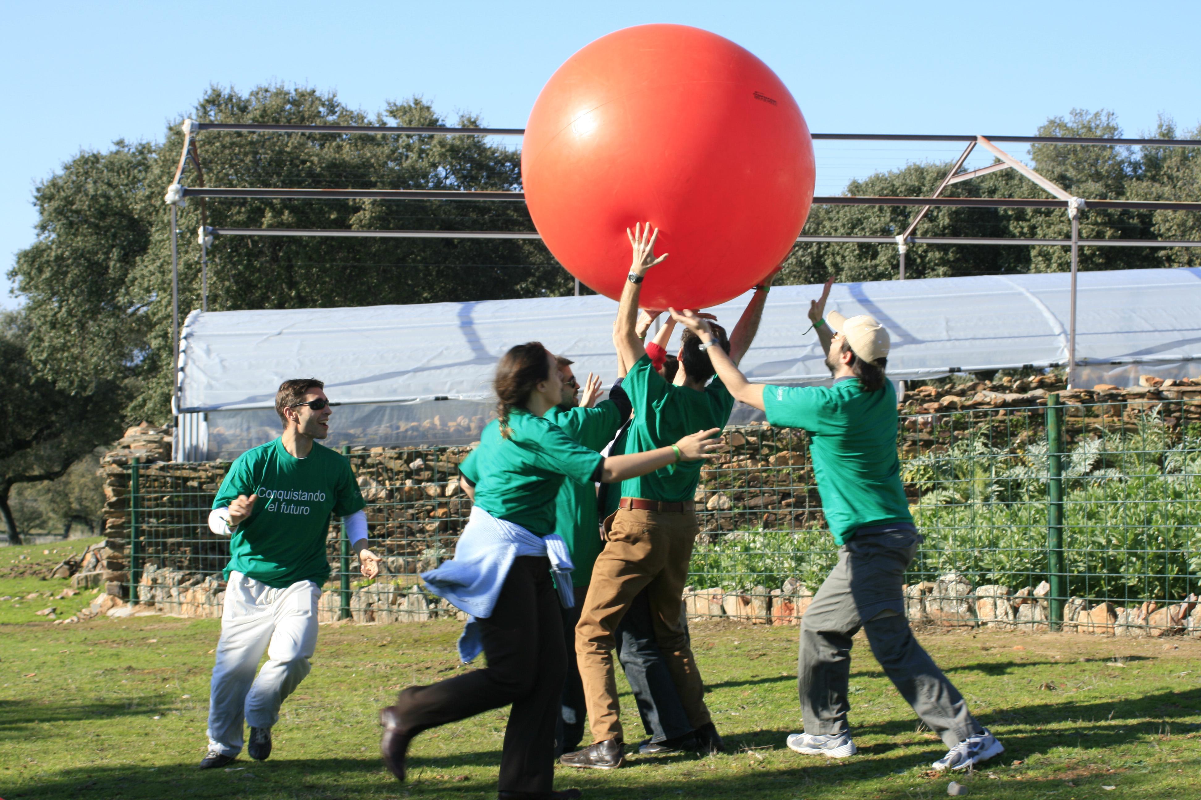 Balon Gigante Cardif
