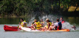 Kayak en Monfragüe