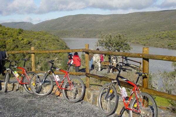 Ruta de Bicicleta en Monfragüe